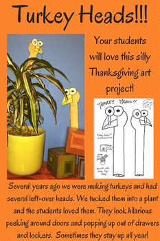 Turkey Heads!!! A Simple Thanksgiving Art Project Your Stu