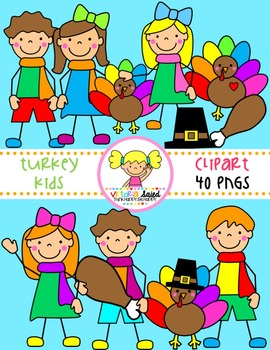 Turkey Kids Clipart