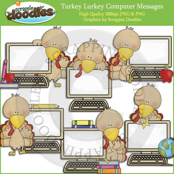 Turkey Lurkey Computer Messages