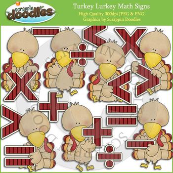 Turkey Lurkey Math Signs