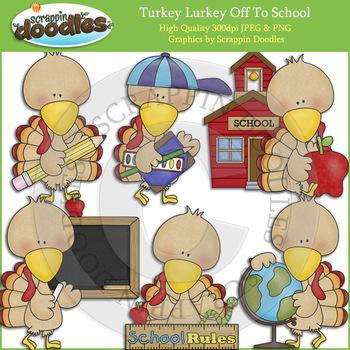 Turkey Lurkey Off To School