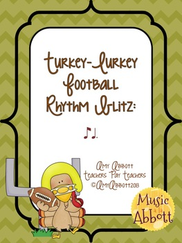 Turkey-Lurkey Rhythm Blitz: a Collection of Games for ti-tom