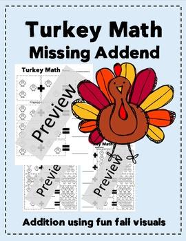Turkey Math, Missing Addend