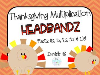 Thanksgiving Multiplication HEADBANDZ