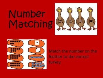 Turkey Number Matching