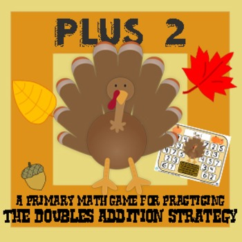 Turkey Plus Two - Thanksgiving Addition Strategy Game - 3