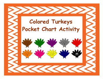 Turkey Pocket Chart Activity