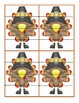 Turkey Puzzlers - A Puzzle Activity for Reading and Spelli