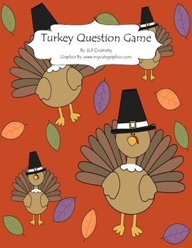 Turkey Question Activity