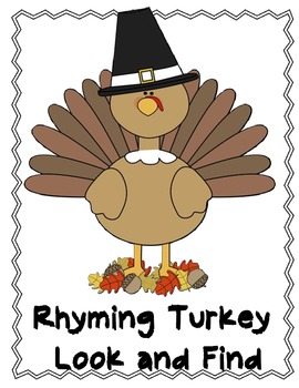 Turkey Rhyming Words