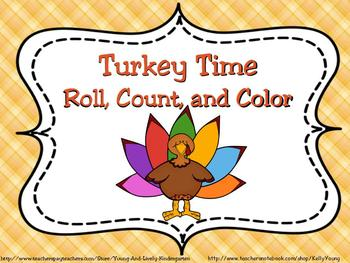 Turkey Roll, Count, and Color