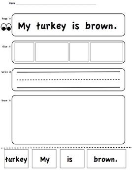 Turkey Sentence