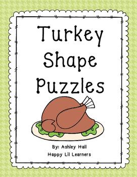 Turkey Shape  Puzzles