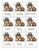 Turkey Sight Word Games