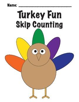 Turkey Skip Counting * Thanksgiving Fun