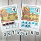 Turkey Ten Frame Game | Pre-K + K Math