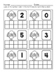 Turkey Ten Frames-Spanish and English Directions