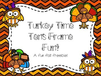 Turkey Tens Frames
