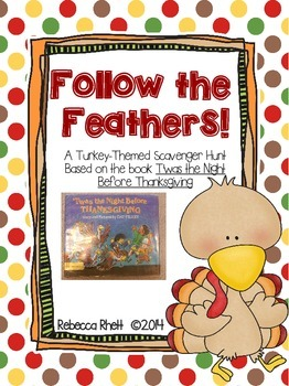 "Turkey-Themed Scavenger Hunt - ""Follow the Feathers!"""