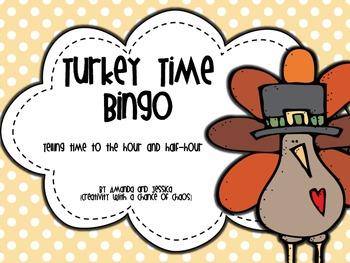 Time Bingo: Turkey Time