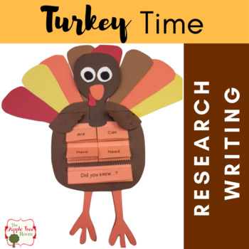 Turkey Time {K-3 CCSS Informative Writing + Craftivity Mini-Unit}