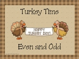 Turkey Time Even and Odd