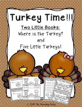 Turkey Time Readers