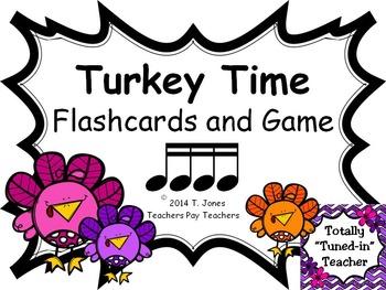 Turkey Time {Sixteenth Notes - Tika Tika}  {Music: Rhythm