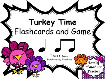 Turkey Time {ta ti-ti}  {Music: Rhythm Concept Game}