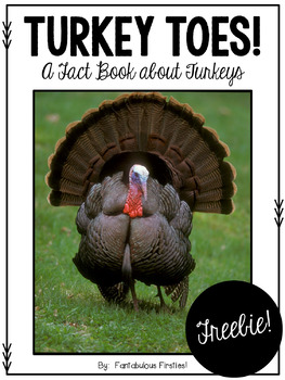 Turkey Toes Fact Book Freebie!