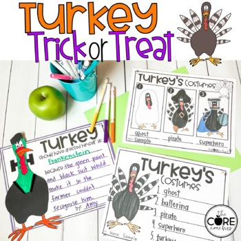 Turkey Trick or Treat Lesson Plans and Activities
