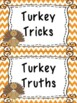 Turkey Tricks & Truths (Facts about Turkeys)