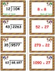 Turkey Trot Game Cards (Division with 2-Digit Divisors) Se