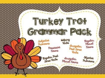 Turkey Trot Grammar Pack