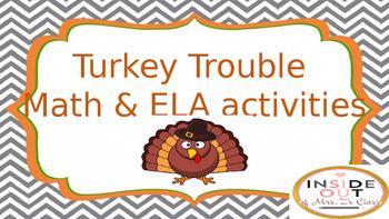 Turkey Trouble Disguised Turkey
