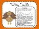 Turkey Trouble- Thanksgiving Synonym Game