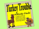 Turkey Trouble Activity Pack: sequence, flannel board,simp