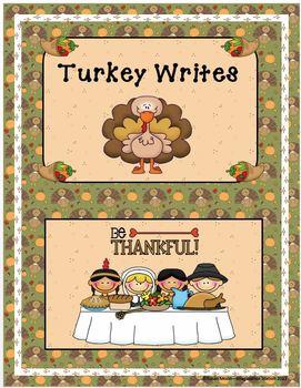"""Turkey Writes"" Packet"