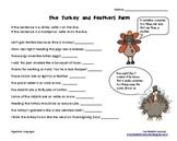 Turkey and Feathers Farm Figurative Language Activity {FREEBIE}