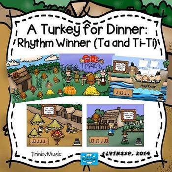 Turkey for Dinner: Rhythm Winner (Ta and T-Ti)