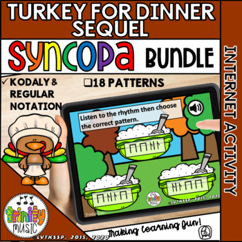 Turkey for Dinner: The Sequel (Syncopa) Interactive Game