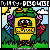 Turkey in Disguise Clipart Freebie