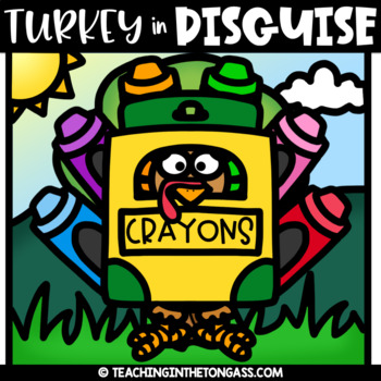 Turkey in Disguise Clipart Free