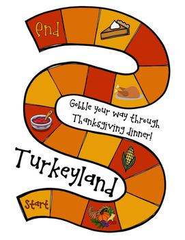 Turkeyland: A Thanksgiving Math Game