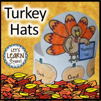 Turkey Hats Thanksgiving Crafts for Thanksgiving Activitie