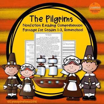 Pilgrims- A Non-fiction Reading Comprehension Passage for