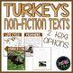Turkeys - Common Core Non-fiction Unit {Thanksgiving Readi