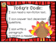 Turkeys! Make a Flap Book- read, site evidence and write!