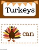 Turkeys {Tree Map Activities}