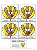 Turkeys Activity: Synonyms Puzzle and Game